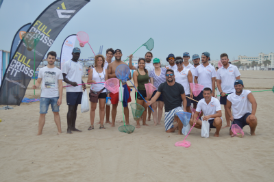 limpiemos nuestras playas de valencia